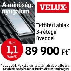 Velux ablak akciók Budapest